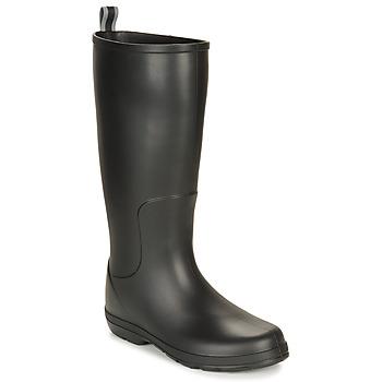 Schuhe Herren Gummistiefel Isotoner 96523 Schwarz