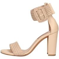 Schuhe Damen Sandalen / Sandaletten Albano 2115 Sandelholz Frau Gesichtspuder Gesichtspuder