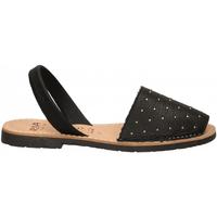 Schuhe Damen Sandalen / Sandaletten Ria VELVET BLANCO negro