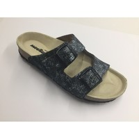 Schuhe Damen Pantoletten / Clogs Weeger Bio Pantolette 11002-23 anthrazit