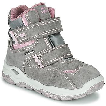 Schuhe Mädchen Boots Primigi WICK GORE-TEX Grau / Rose