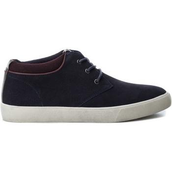 Schuhe Herren Sneaker Low B3D 40218 SERRAJE COMBINADO NAVY Azul marino