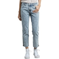 Kleidung Damen Jeans Volcom 1991 Straight Ankle Cloud Blue