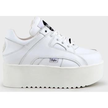 Schuhe Damen Sneaker High Buffalo 1330-6 Weiss