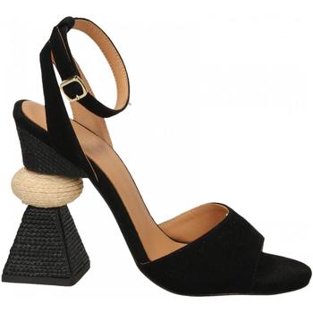 Schuhe Damen Sandalen / Sandaletten Paloma Barcelò KID SUEDE blk-nero