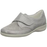 Schuhe Damen Derby-Schuhe Waldläufer Slipper MEMPHIS FLORYSTRETCH Da.Slippe M54306207/230 silber