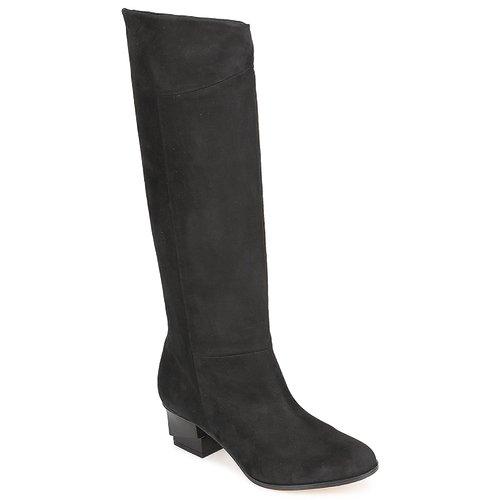 Schuhe Damen Klassische Stiefel Karine Arabian GALAXY Schwarz