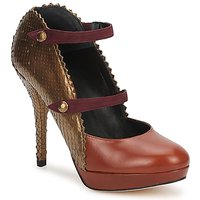 Schuhe Damen Pumps Karine Arabian PHOENIX Braun / Gold / Bordeaux