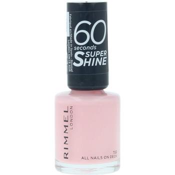 Beauty Damen Nagellack Rimmel London 60 Seconds Super Shine 722-all Nails On Deck  8 m