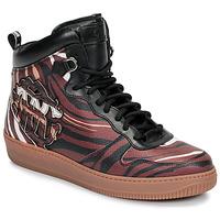 Schuhe Herren Sneaker High Roberto Cavalli 8343 Multicolor