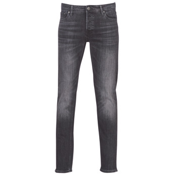 Kleidung Herren Slim Fit Jeans Jack & Jones JJIGLENN Schwarz