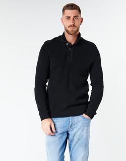Kleidung Herren Pullover Jack & Jones JCOWELLINGTON Schwarz