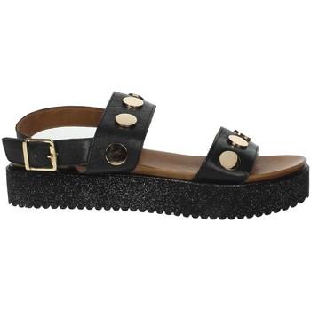 Schuhe Damen Sandalen / Sandaletten Donna Style 19-335 Schwarz