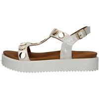 Schuhe Damen Sandalen / Sandaletten Donna Style 217-18826 WEISS