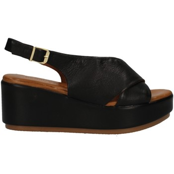Schuhe Damen Sandalen / Sandaletten Donna Style 19-722 Schwarz