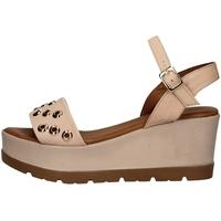 Schuhe Damen Sandalen / Sandaletten Donna Style 19-5008-P ROSA