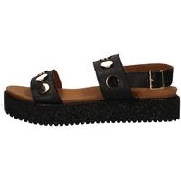 Schuhe Damen Sandalen / Sandaletten Donna Style 19-335 BLACK