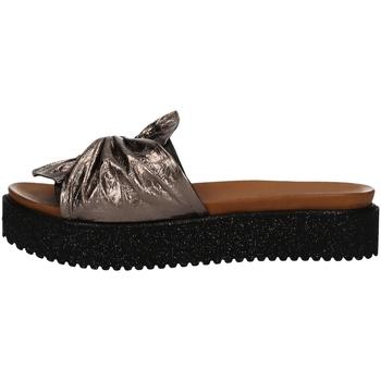 Schuhe Damen Sandalen / Sandaletten Donna Style 19-281 GRAY