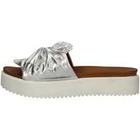 Schuhe Damen Sandalen / Sandaletten Donna Style 19-281 SILVER