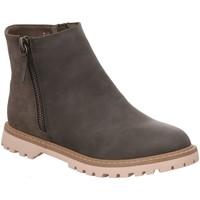 Schuhe Damen Boots Diverse Stiefeletten 18010383-1 grau