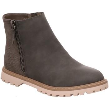 Schuhe Damen Boots Diverse Stiefeletten M+M P6 18010383 FOB 18010383-1 grau