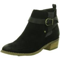 Schuhe Damen Low Boots Diverse Stiefeletten Schlupf/RV-St.Sp-Bod 1006133 schwarz