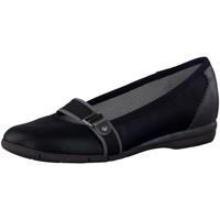 Schuhe Damen Ballerinas Diverse Da.-Ballerina 5-5-22128-38-098 schwarz