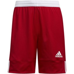 Kleidung Kinder Shorts / Bermudas adidas Originals 3G Speed Reversible Shorts Rot