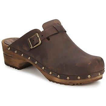 Schuhe Damen Pantoletten / Clogs Sanita KRISTEL OPEN Braun
