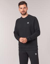 Kleidung Herren Sweatshirts adidas Originals ESSENTIAL CREW Schwarz