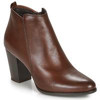 Schuhe Damen Low Boots André MAGDA Braun