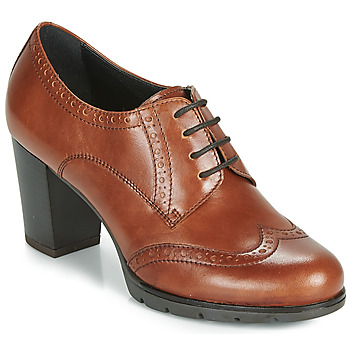 Schuhe Damen Derby-Schuhe André MAESTRO Cognac