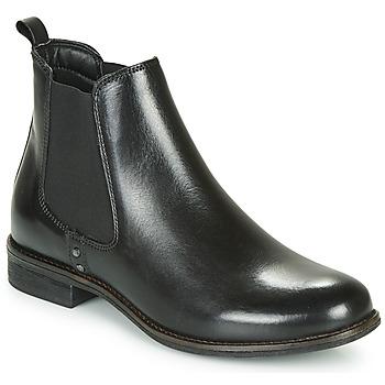 Schuhe Damen Boots André MAGIC Schwarz
