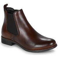 Schuhe Damen Boots André MAGIC Braun