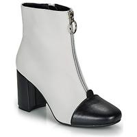 Schuhe Damen Low Boots André LAOSA Weiss