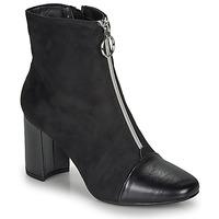 Schuhe Damen Low Boots André LAOSA Schwarz