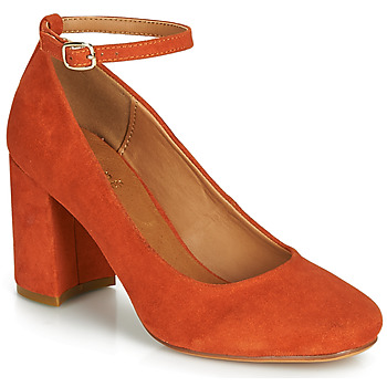 Schuhe Damen Pumps André LAURIA Orange