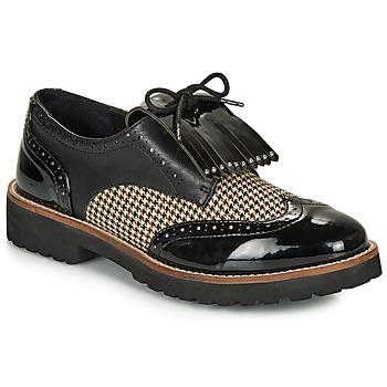 Schuhe Damen Derby-Schuhe André NATTE Schwarz