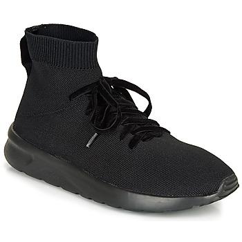 Schuhe Damen Sneaker High André BOGOTA Schwarz