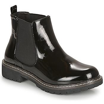 Schuhe Damen Boots André NOVA Schwarz