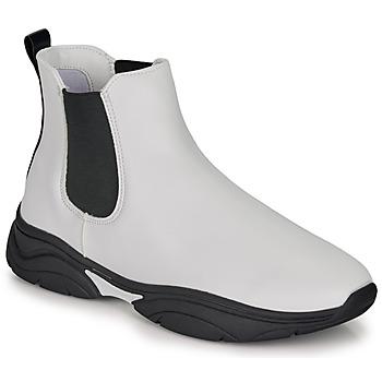 Schuhe Damen Boots André BILLIE Weiss