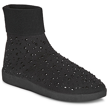 Schuhe Damen Sneaker High André BAYA Schwarz