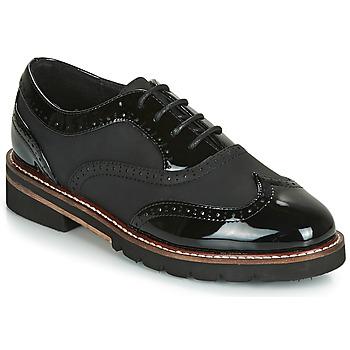 Schuhe Damen Derby-Schuhe André NAHEMA Schwarz