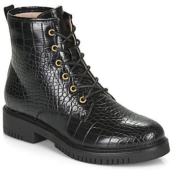 Schuhe Damen Boots André NAJOUA Schwarz