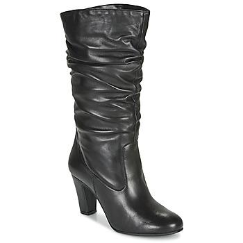 Schuhe Damen Boots André LALALY Schwarz
