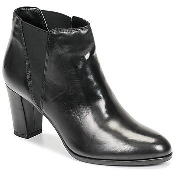 Schuhe Damen Boots André ELONA Schwarz