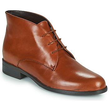 Schuhe Damen Boots André EMILIE Cognac