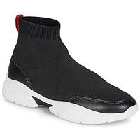 Schuhe Damen Sneaker High André BELLA Schwarz