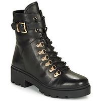 Schuhe Damen Low Boots André NENUPHAR Schwarz