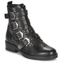 Schuhe Damen Boots André NARCISSE Schwarz